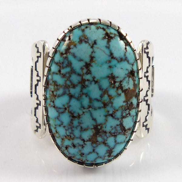 Kingman Turquoise Ring - Jewelry - Dina Huntinghorse - 1