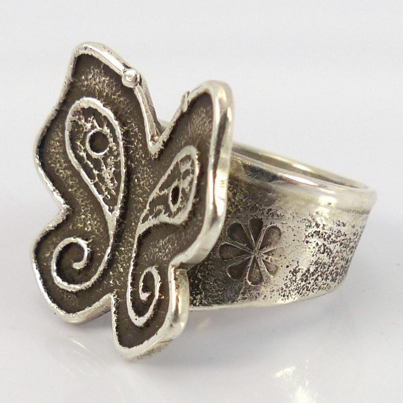 Silver Butterfly Ring - Jewelry - Joel Pajarito - 3