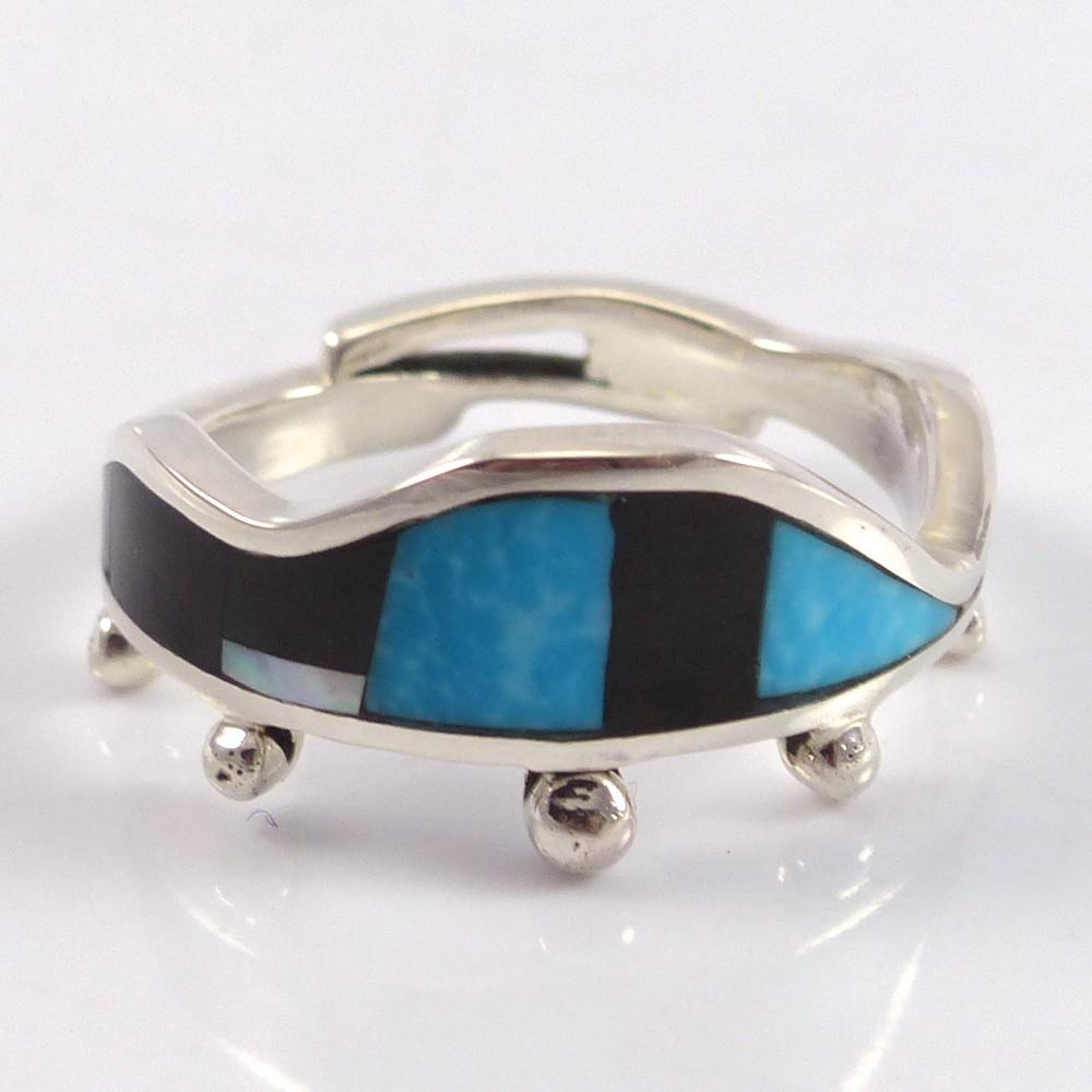 Multi-Stone Inlay Ring - Jewelry - Travis Tutt - 1