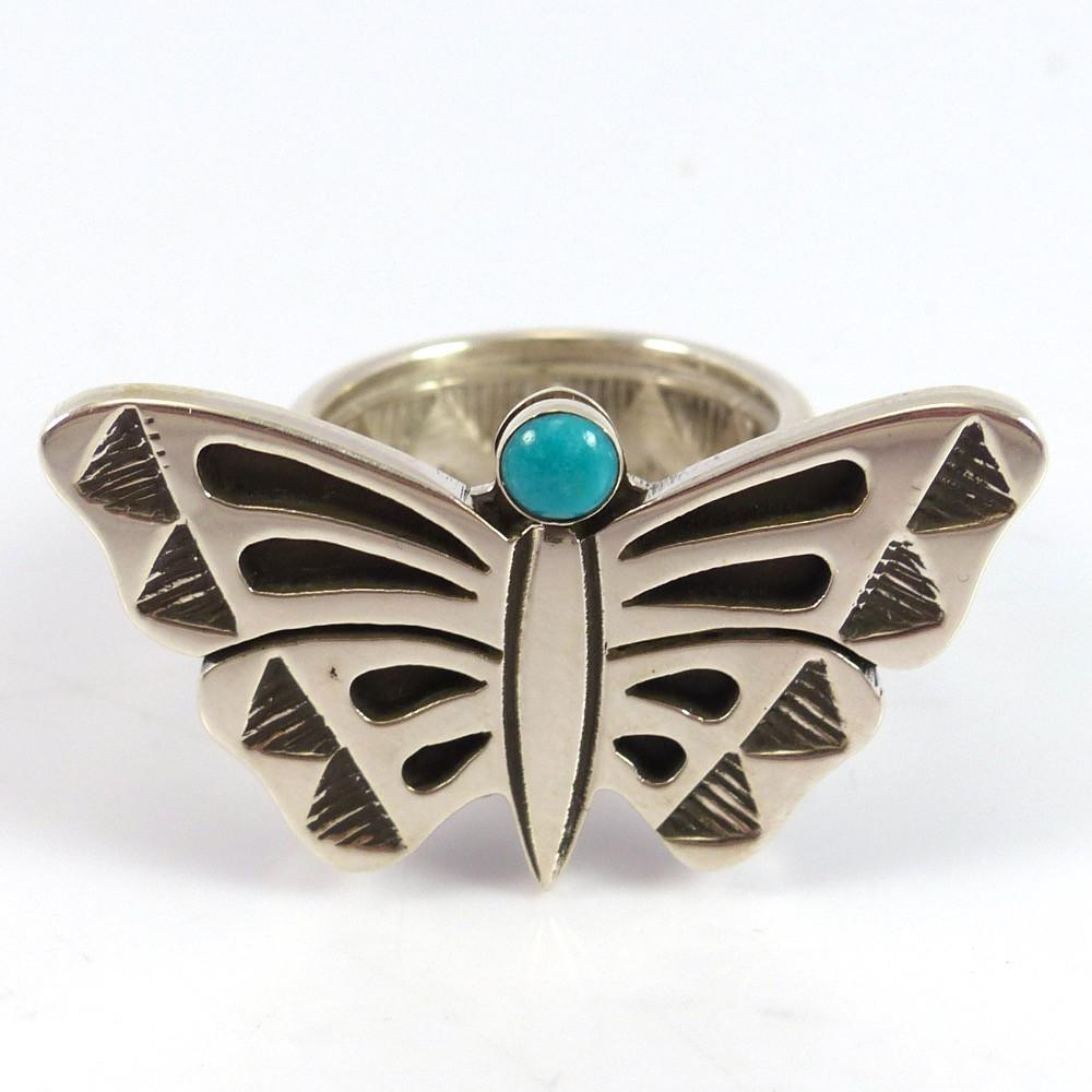 Turquoise Butterfly Ring - Jewelry - Aaron John - 1