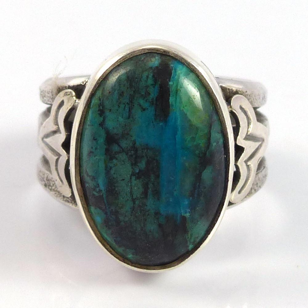 Chrysocolla Ring - Jewelry - Noah Pfeffer - 1