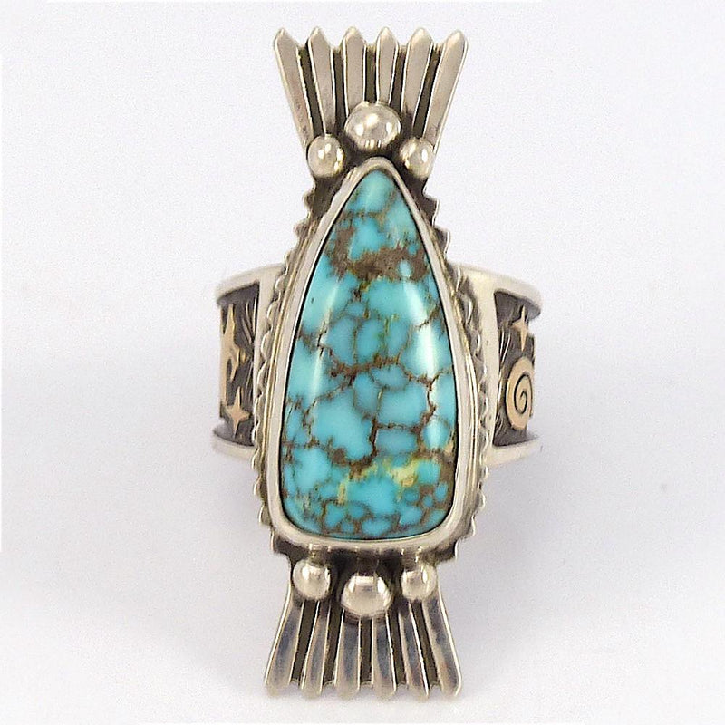 Carico Lake Turquoise Ring - Jewelry - Arland Ben - 1