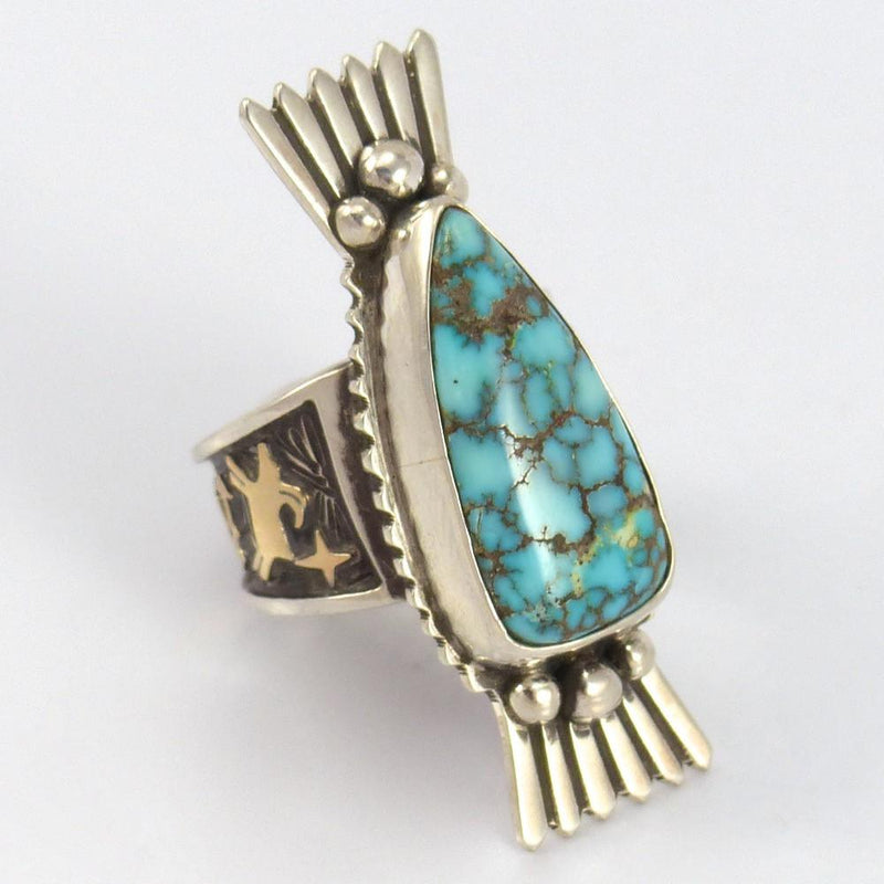 Carico Lake Turquoise Ring - Jewelry - Arland Ben - 2