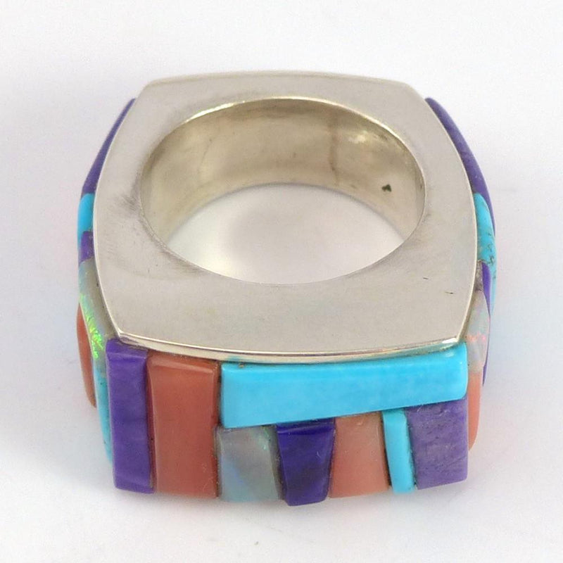 Colorful Inlay Ring - Jewelry - Noah Pfeffer - 3