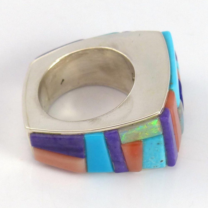 Colorful Inlay Ring - Jewelry - Noah Pfeffer - 4