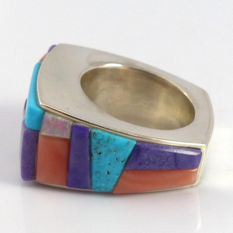 Colorful Inlay Ring - Jewelry - Noah Pfeffer - 5