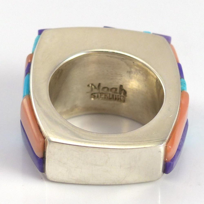 Colorful Inlay Ring - Jewelry - Noah Pfeffer - 6