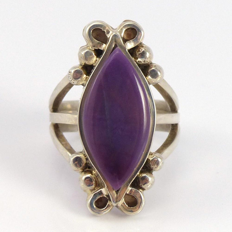 Sugilite Ring - Jewelry - Bryon Yellowhorse - 1