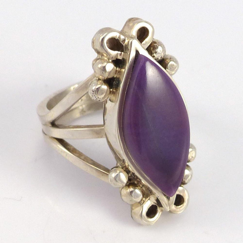 Sugilite Ring - Jewelry - Bryon Yellowhorse - 2