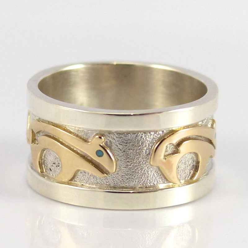 Gold on Silver Ring - Jewelry - Robert Taylor - 2