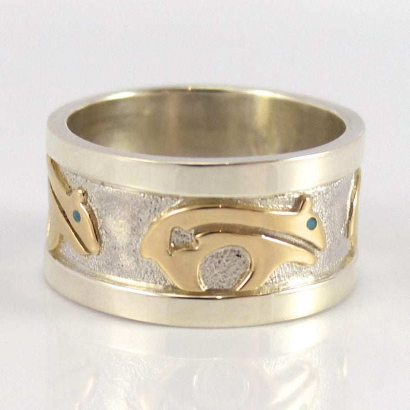 Gold on Silver Ring - Jewelry - Robert Taylor - 3