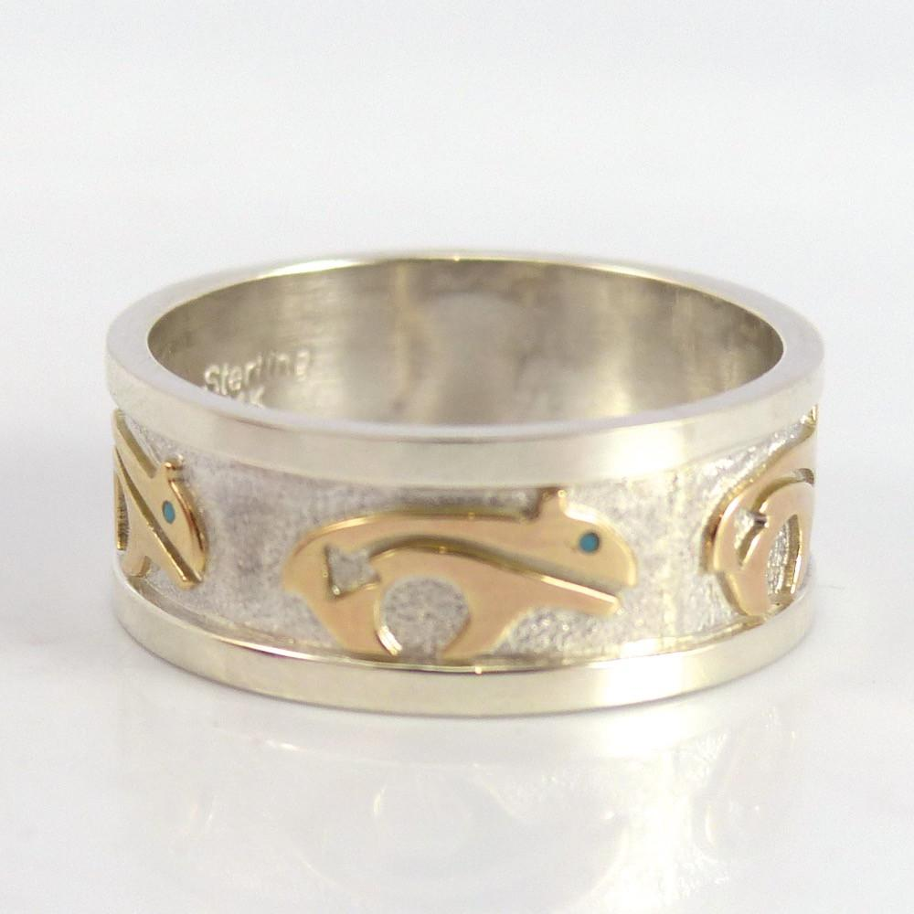 Gold on Silver Ring - Jewelry - Robert Taylor - 1