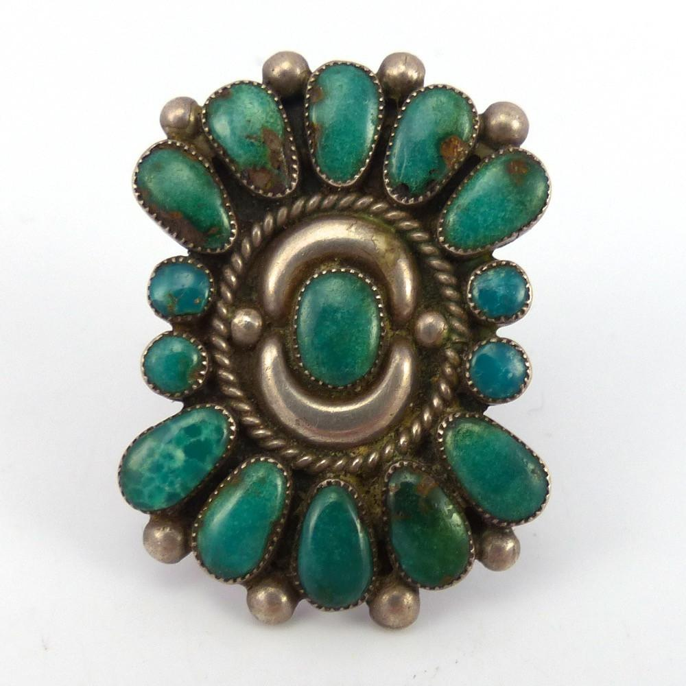 Turquoise Cluster Ring - Jewelry - Quandelacy - 1