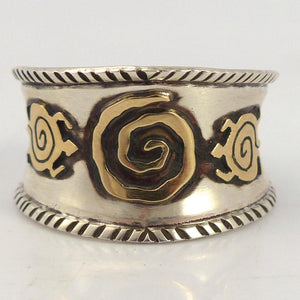 Gold on Silver Ring - Jewelry - Arland Ben - 1