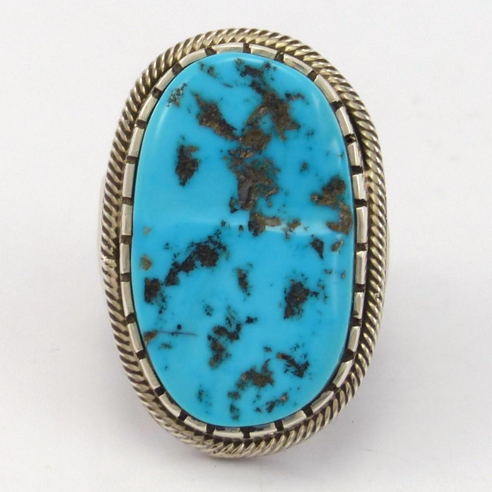 Kingman Turquoise Ring - Jewelry - Pete Johnson - 1