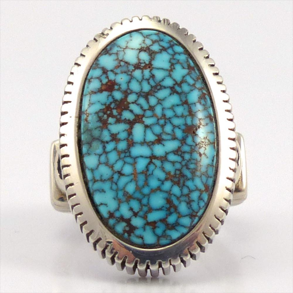 Kingman Turquoise Ring, Jennifer Curtis, Jewelry, Garland's Indian Jewelry