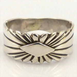 Sunburst Ring, Lutricia Yellowhair, Jewelry, Garland's Indian Jewelry