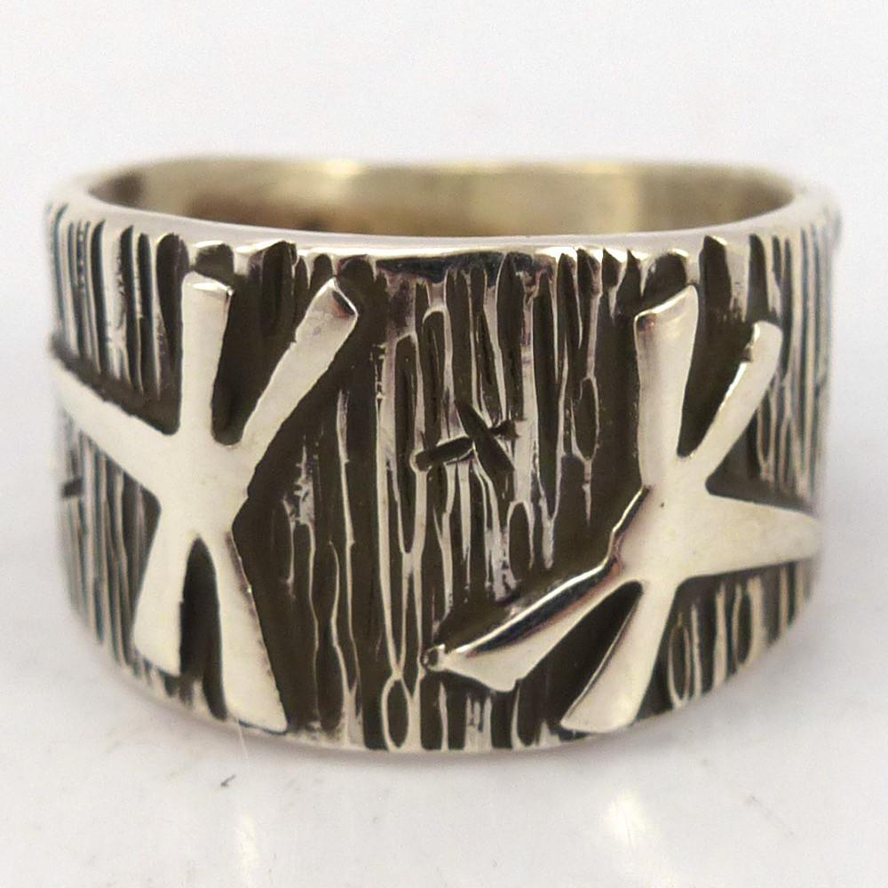 Dragonfly Ring, Kee Yazzie, Jewelry, Garland's Indian Jewelry