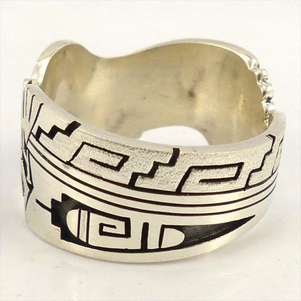 Hopi Overlay Ring Garland S Indian Jewelry