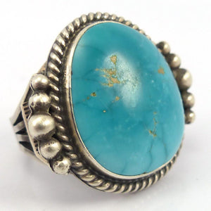 Fox Turquoise Ring, Tommy Jackson, Jewelry, Garland's Indian Jewelry