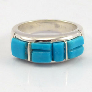 Cobble Inlaid Ring