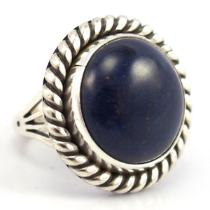 Lapis Ring, Toby Henderson, Jewelry, Garland's Indian Jewelry
