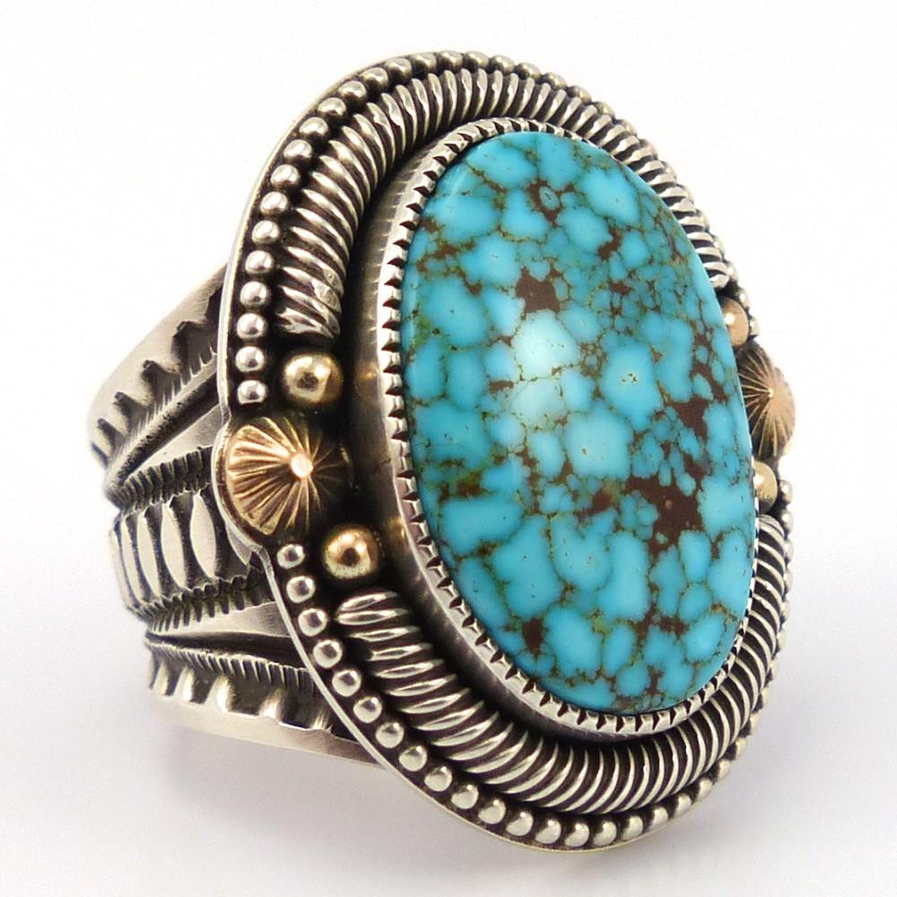 Turquoise Mountain Ring, Sammie Kescoli Begay, Jewelry, Garland's Indian Jewelry