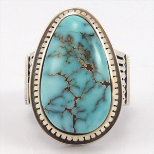 Dry Creek Turquoise Ring, Jennifer Curtis, Jewelry, Garland's Indian Jewelry