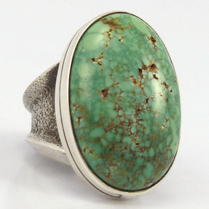 Carico Lake Turquoise Ring, Noah Pfeffer, Jewelry, Garland's Indian Jewelry