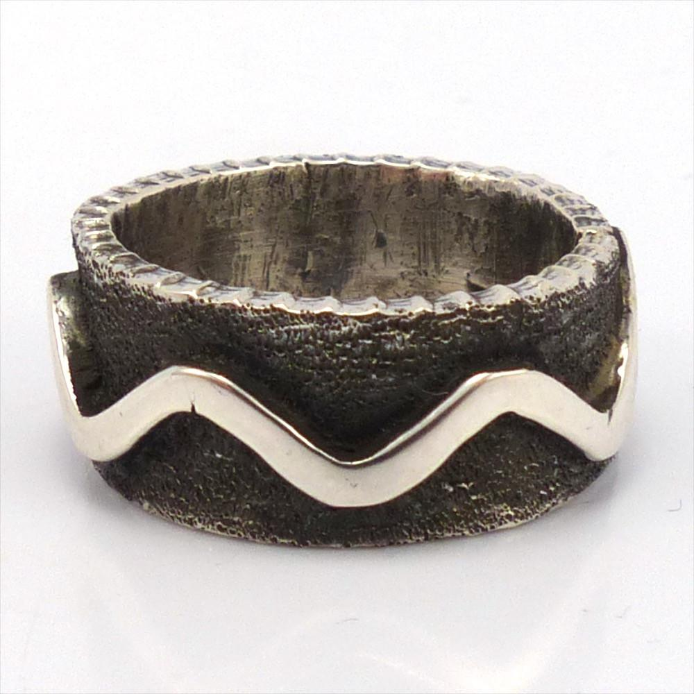 silver wave ring garland s indian jewelry