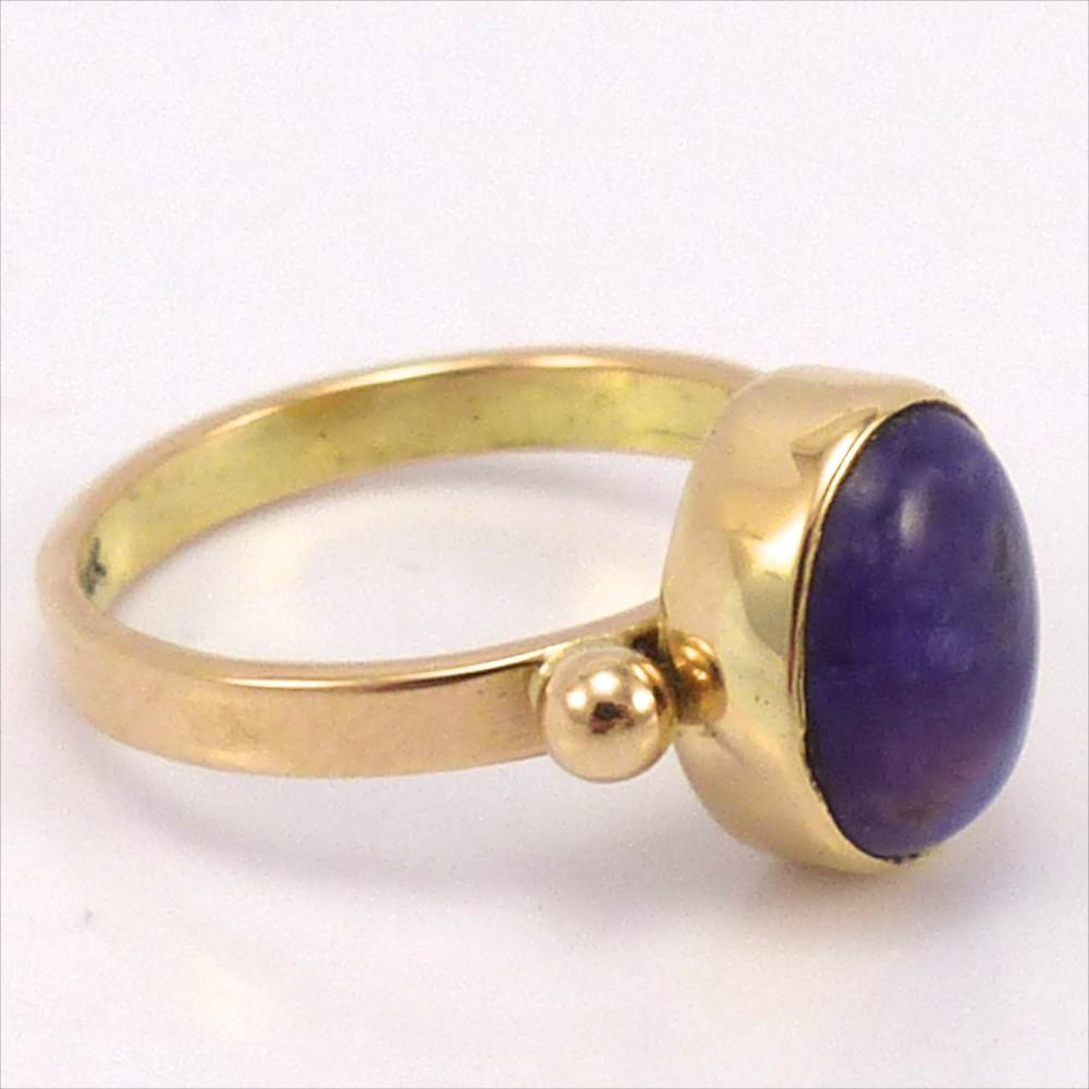 Gold Sugilite Ring, Noah Pfeffer, Jewelry, Garland's Indian Jewelry