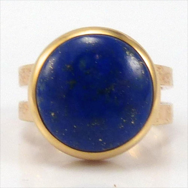 Lapis and Gold Ring