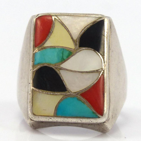 Vintage Inlay Ring