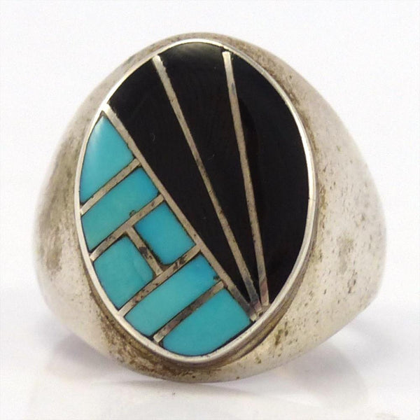 1970s Inlay Ring