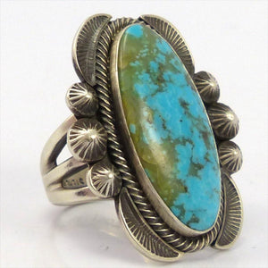 Hachita Turquoise Ring, Robert Chee, Jewelry, Garland's Indian Jewelry
