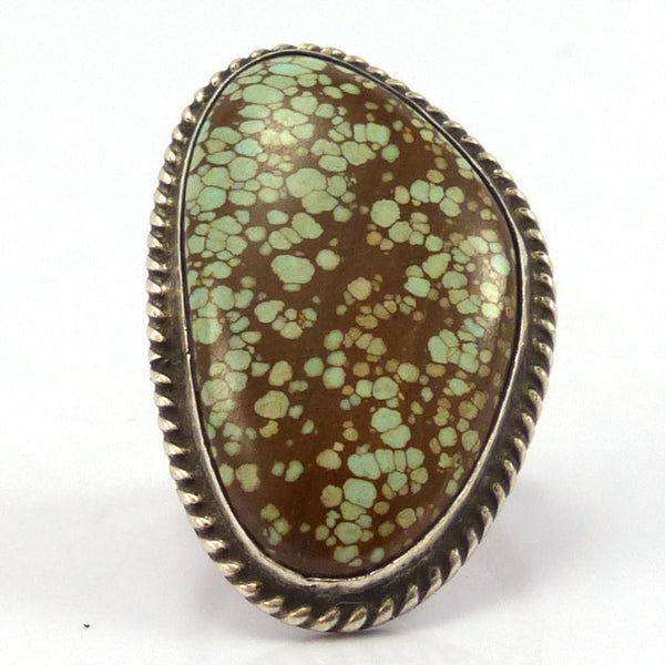 1960s Number Eight Turquoise Ring