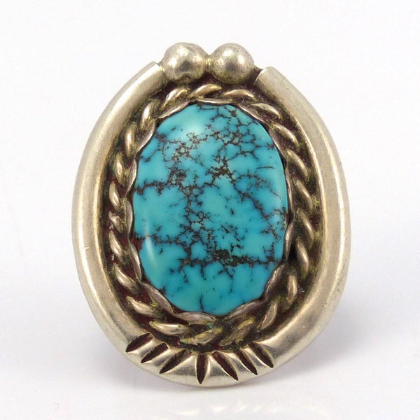 1960s Lone Mountain Turquoise Ring