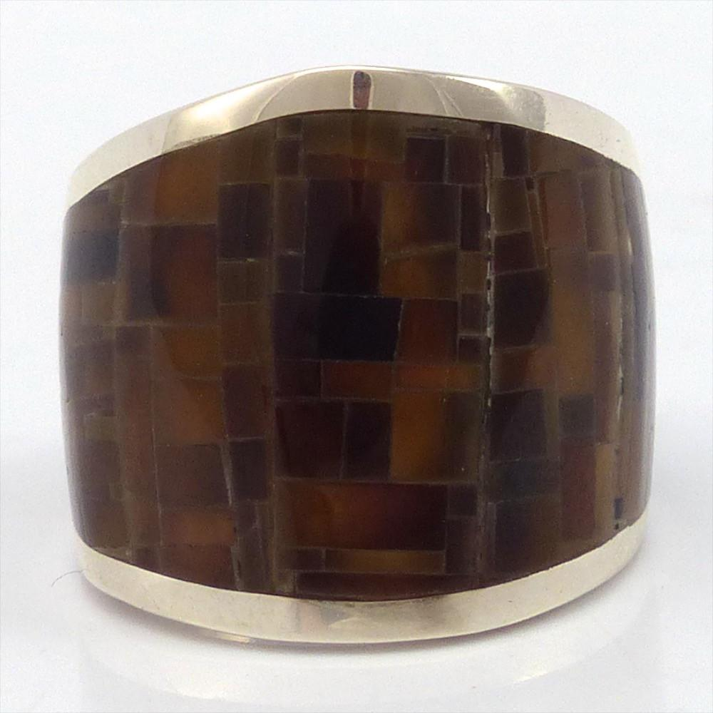 Inlay Ring, Colin Coonsis, Jewelry, Garland's Indian Jewelry