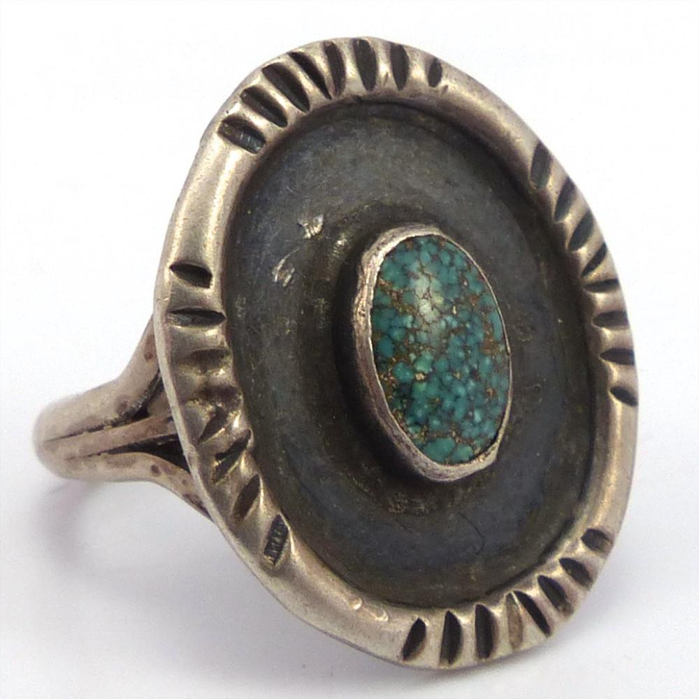 Spiderweb Turquoise Ring, Vintage Collection, Jewelry, Garland's Indian Jewelry