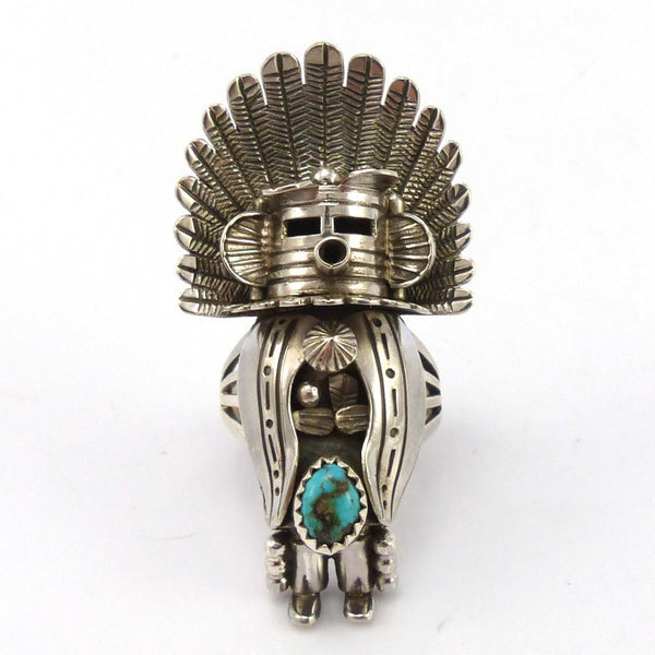 Morning Singer Kachina Ring