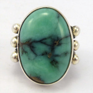 Vista Green Turquoise Ring