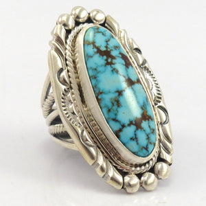 Kingman Turquoise Ring, Al Joe, Jewelry, Garland's Indian Jewelry