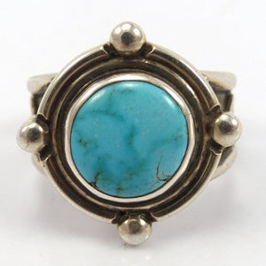 Carico Lake Turquoise Ring, Annelise Williamson, Jewelry, Garland's Indian Jewelry