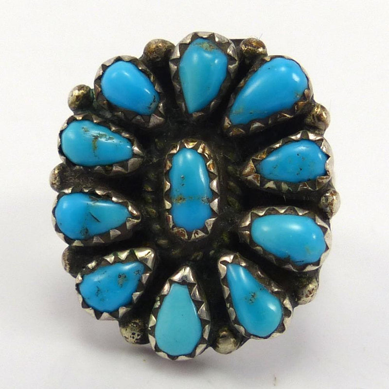 1970s Turquoise Ring, Vintage Collection, Jewelry, Garland's Indian Jewelry