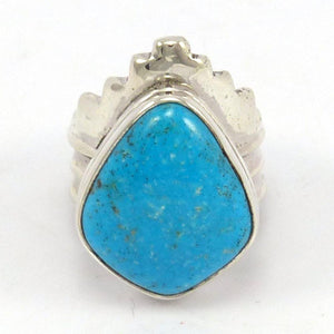 Kingman Turquoise Ring, Noah Pfeffer, Jewelry, Garland's Indian Jewelry