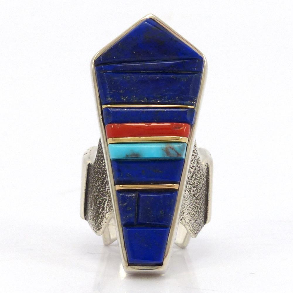 Cobble Inlay Ring, Wes Willie, Jewelry, Garland's Indian Jewelry