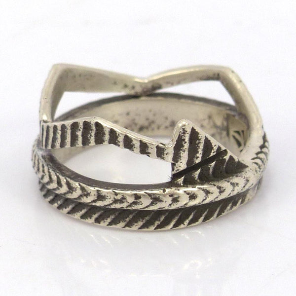 Cast Arrow Ring