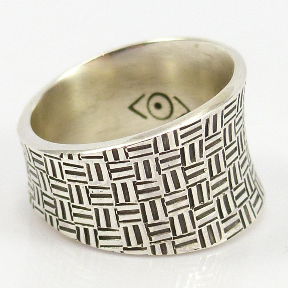 Stamped Saddle Ring