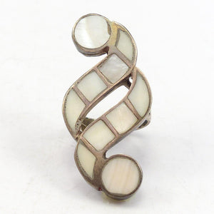 1970s Mother of Pearl Ring