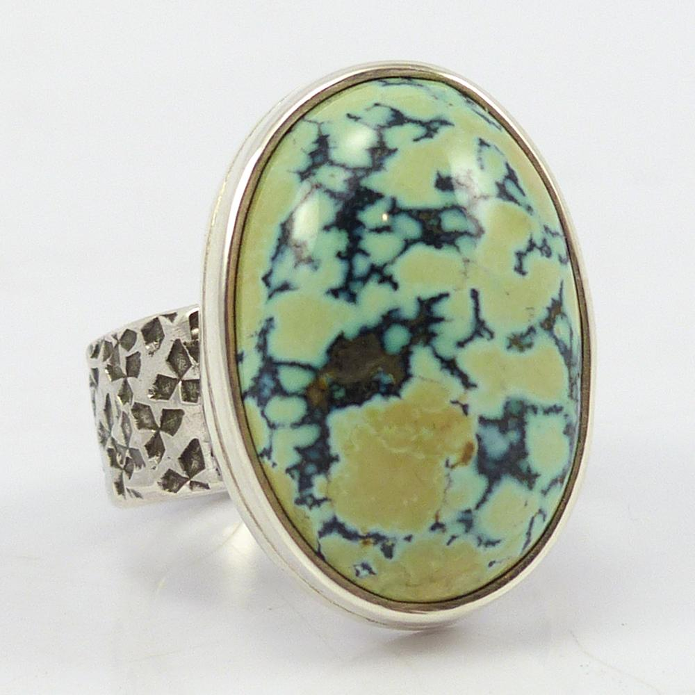 Peacock Turquoise Ring